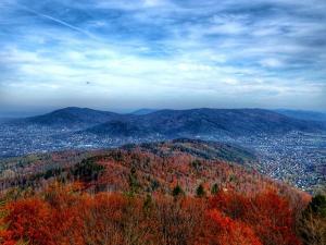 Panorama Bielska Białej z Szyndzielni