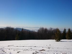 Widok ze szczytu Jałowca