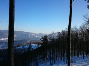 Fragmenty Pasm Policy i Babiej Góry oraz zarys Tatr