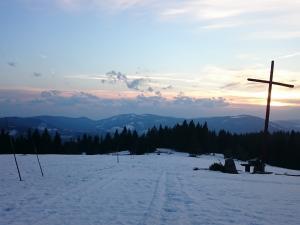 Zachód słońca na Krawcowym Wierchu