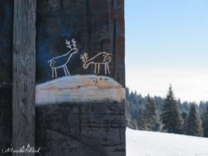 Z podejścia na Turbacz, grudzień 2017