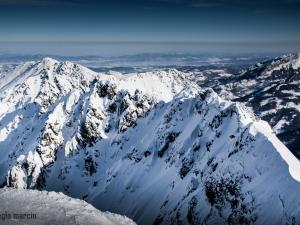Widok ze szczytu Koziego Wierchu