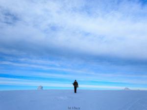Samotny fotograf