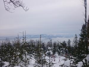 Widok ze szczytu Czupla