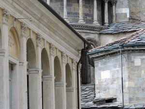 Bazylika Santa Maria Maggiore w Bergamo Alta.