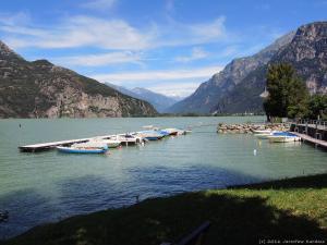 Kolejne jezioro na mojej trasie - Lago di Mezzola.