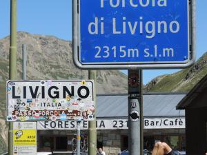 Tu, po paru dniach pobytu w Szwajcarii, znów powracam do Włoch.