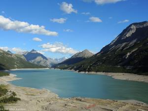 Zjeżdżam nad Lago di Cancano - ok. 1900 m n.p.m.