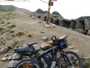 Na przełęczy Bocchetta di Forcola - 2760 m n.p.m.