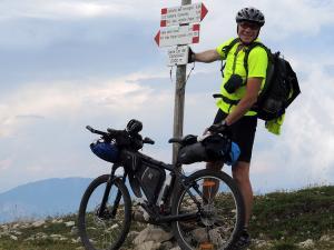 Monte Pasubio; na przełęczy Campluzzi (2002 m n.p.m.)