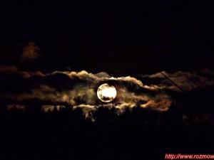 Pełnia Księżyca nad Stożkiem