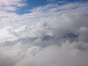 Tatry Zachodnie w chmurach