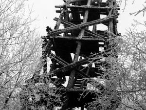 Wieża triangulacyjno-obserwacyjna na Dziale Tylawskiem