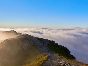 Kasprowy Wierch w chmurach
