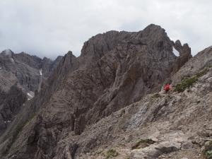 Wycieczka na Spitzkofel - trasa i widoki z trasy
