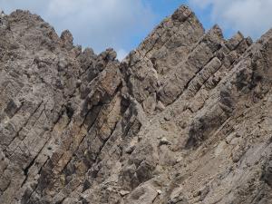 Graniowa ferrata na Eggerturm i Seekofel - trasa i widoki z trasy