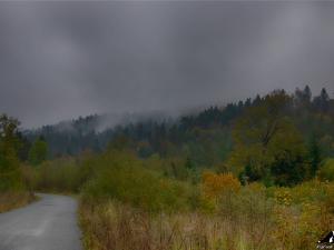 Deszczowo w Rabskiej Dolinie