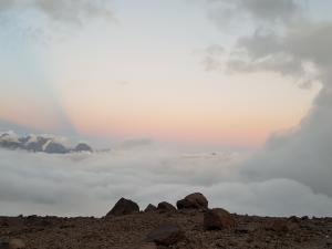 Zachód słońca w okolicy Bethlemi Hut