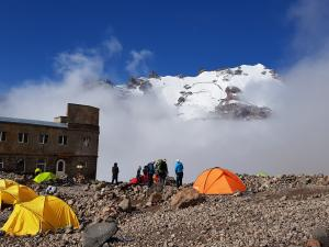 Baza namiotowa pod Bethlemi Hut