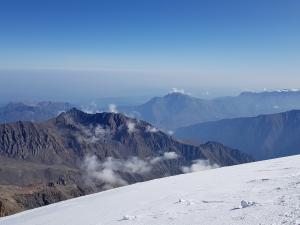 Kazbek - widok ze szczytu