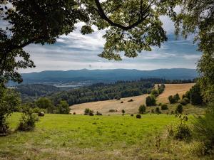 Widok na Kotlinę z pasma Gór Kaczawskich