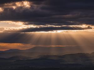 Takie zachody słońca tylko ze Szczelińca Wielkiego