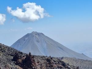 Widok na Mały Ararat 3896m n.p.m.