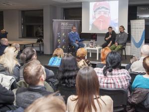 Spotkanie w Tyskiej Galerii Sportu
