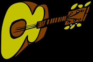 Gitara w górach