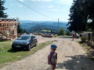 Wielka Sowa - Lenka na szlaku