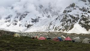 Nanga Parbat Base Camp Diamir glacier