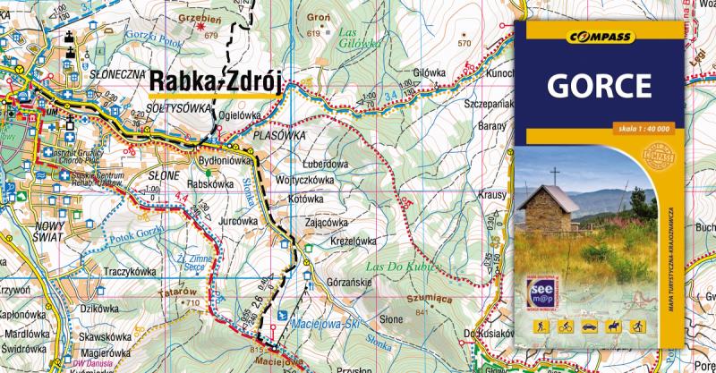 Gorce Mapa Online Compass 2015 Gory I Ludzie
