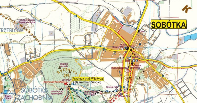 Masyw Slezy Sobotka Mapa Online Galileos Gory I Ludzie