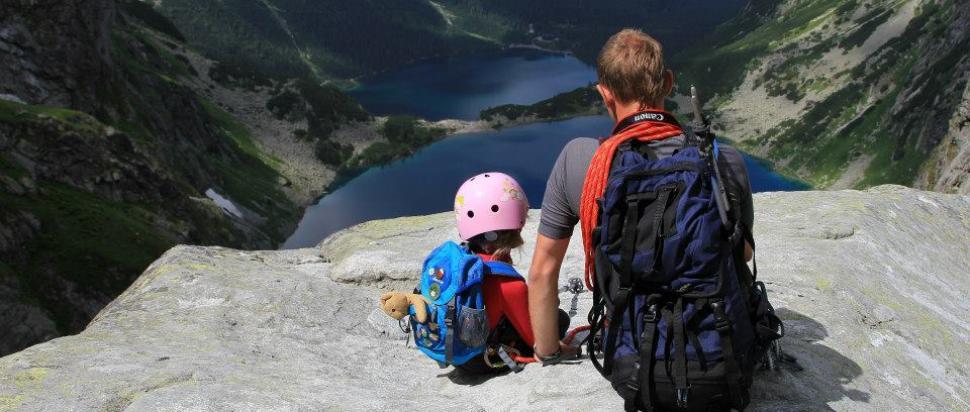 Z dzieckiem w Tatrach