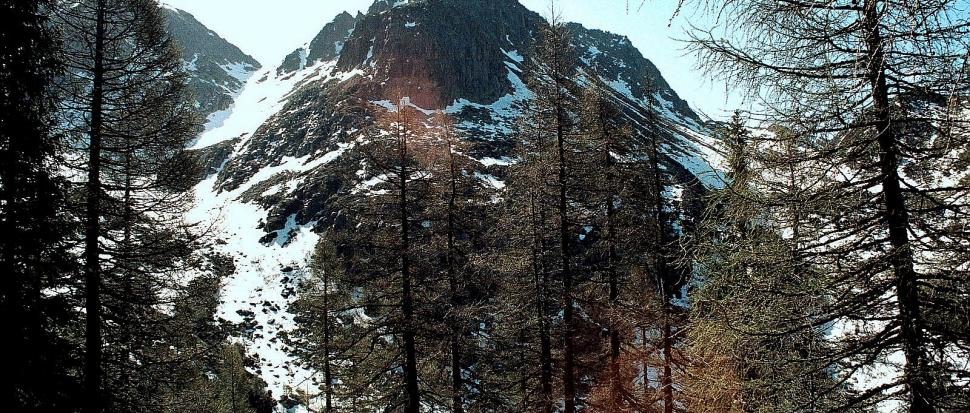 Cima Sette Selle, Dolomity, maj