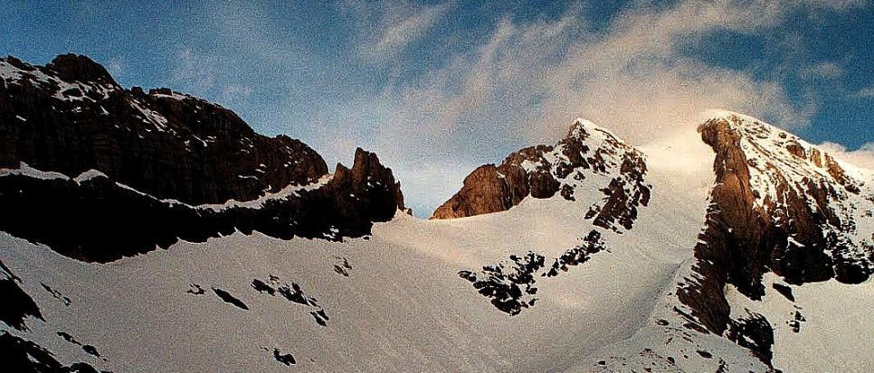 Biwak nad Lago Helado, Pireneje, czerwiec