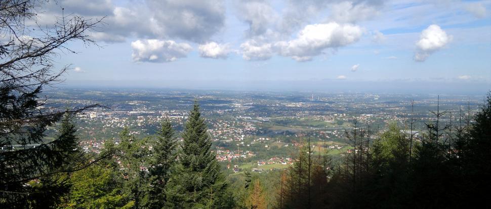 Widok na Bielsko