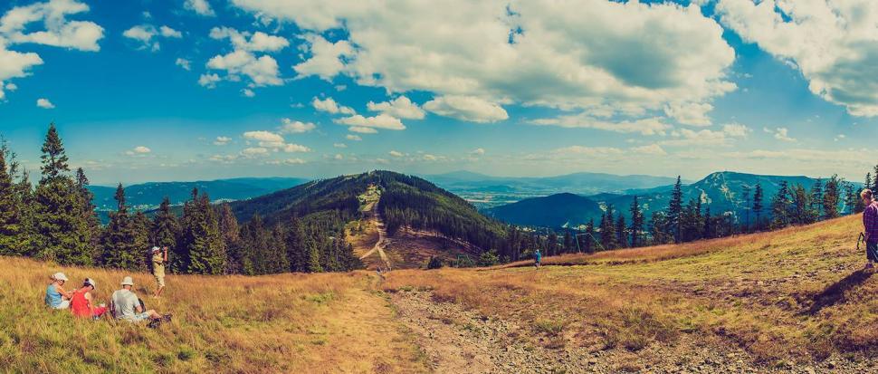 Klimczok - panorama
