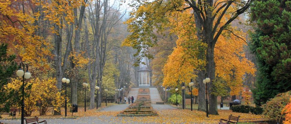 Park w Polanicy-Zdrój