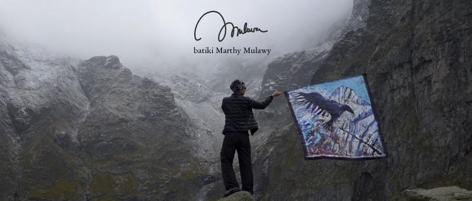 Moje Tatry światłem malowane - batiki Marthy Mulawy