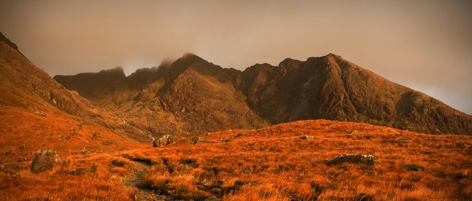 Góry Cuillin w Szkocji