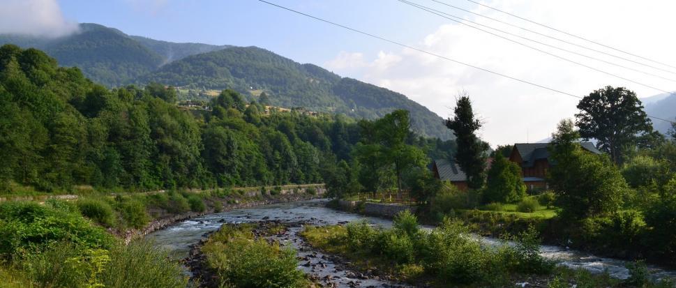 Kwasy - karpacka wieś