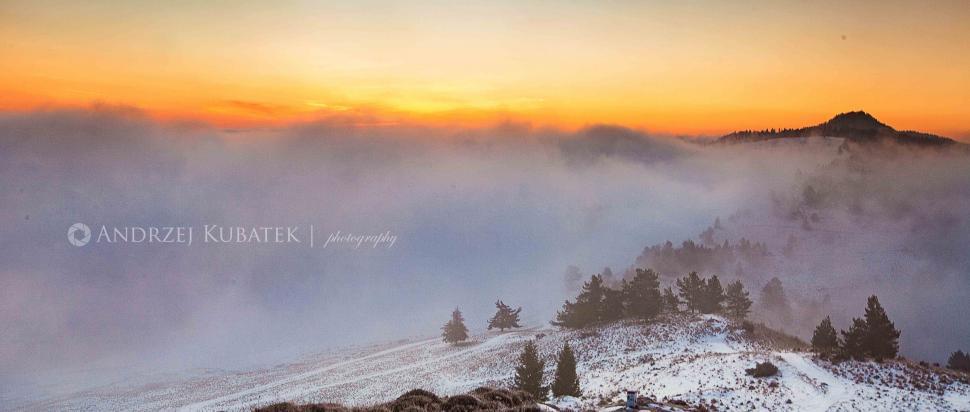 Wysoka nad mgłami
