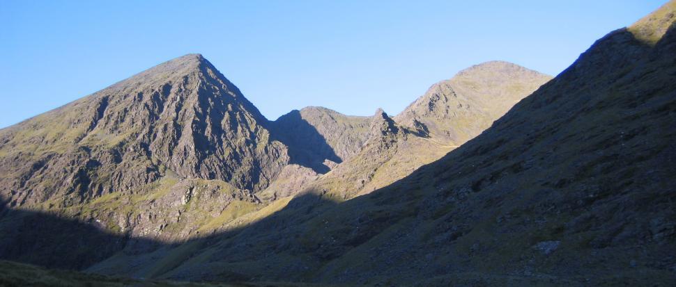 Widok na Carrauntoohill i Beenkeragh
