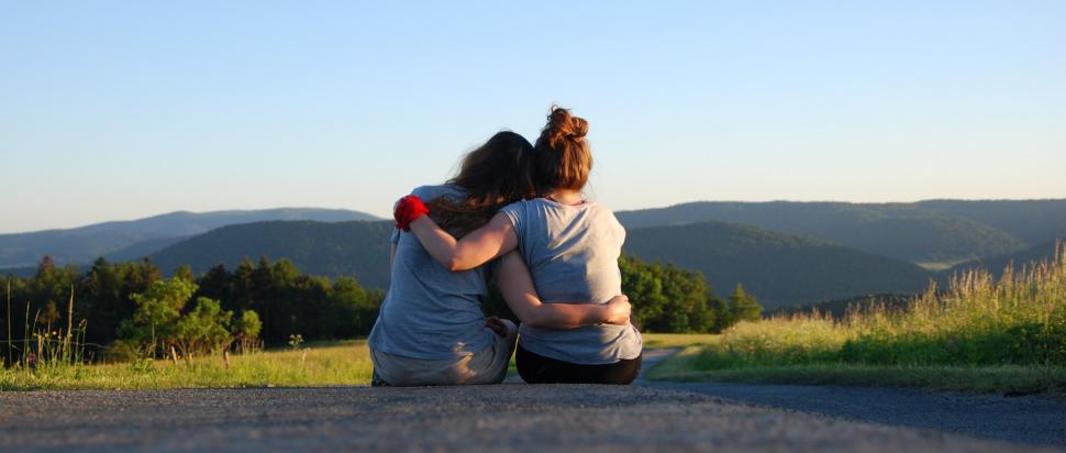 Zaprzyjaźnij się z człowiekiem, który chodzi po górach