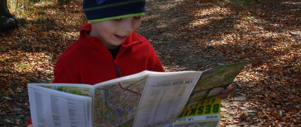 Dziecięce czytanie mapy