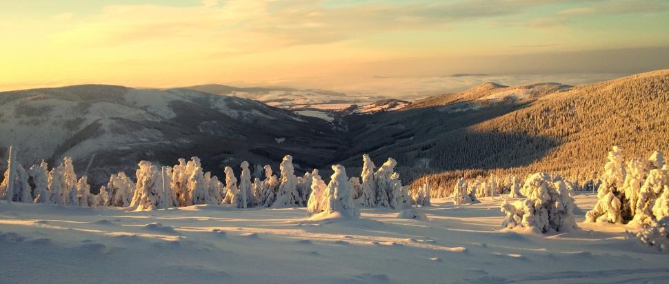 Wschód Słońca na Śnieżniku