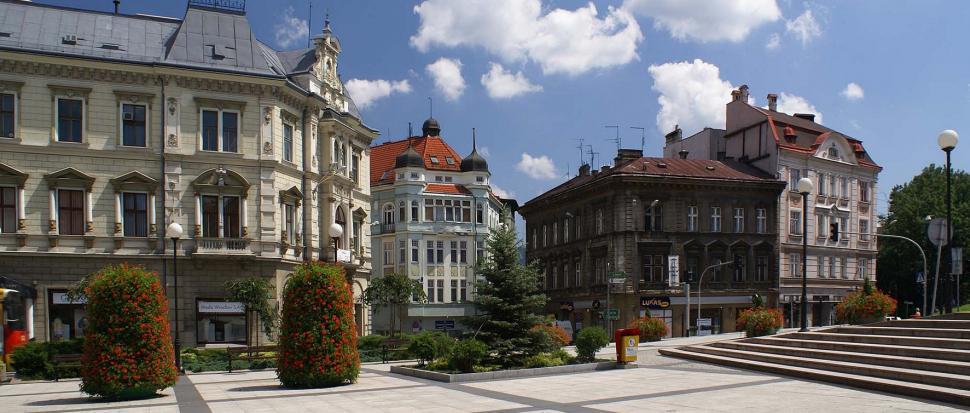 Bielsko Biała - Plac Bolesława Chrobrego