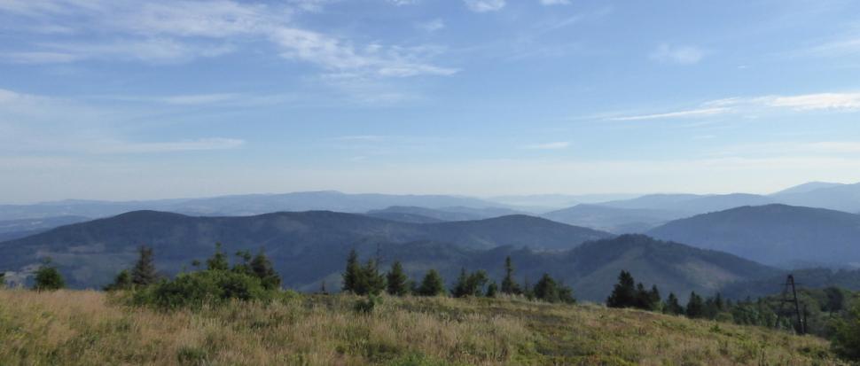 Panorama z Wielkiej Raczy