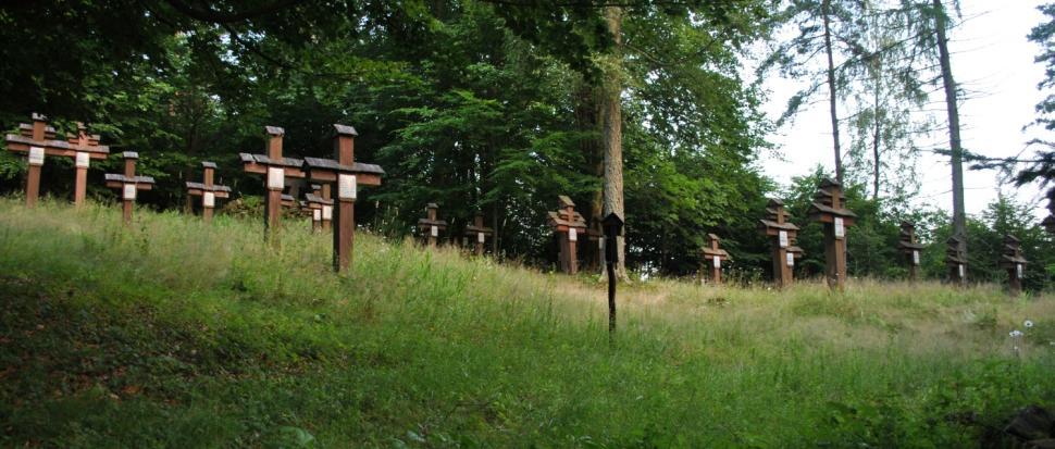 Cmentarz wojenny nr 49 nad miejscowością Blechnarka